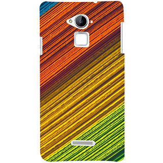 ColourCrust Coolpad Note 3 Mobile Phone Back Cover With D287 - Durable Matte Finish Hard Plastic Slim Case
