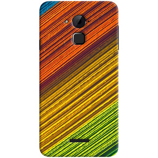 ColourCrust Coolpad Note 3 Lite Mobile Phone Back Cover With D287 - Durable Matte Finish Hard Plastic Slim Case