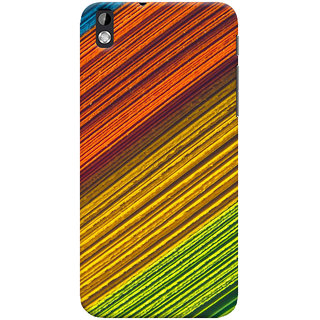 ColourCrust HTC Desire 816 Mobile Phone Back Cover With D287 - Durable Matte Finish Hard Plastic Slim Case