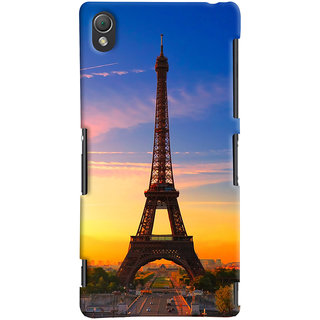 ColourCrust Sony Xperia Z3 Compact / Mini Mobile Phone Back Cover With D298 - Durable Matte Finish Hard Plastic Slim Case