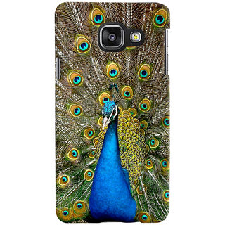 ColourCrust Samsung Galaxy A3 A310 (2016 Edition) Mobile Phone Back Cover With D291 - Durable Matte Finish Hard Plastic Slim Case