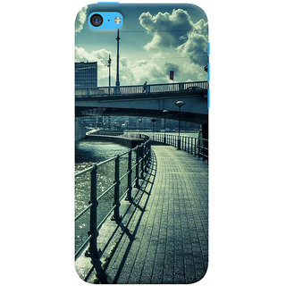 ColourCrust  5S Mobile Phone Back Cover With D290 - Durable Matte Finish Hard Plastic Slim Case