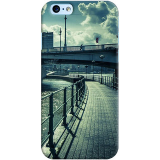 ColourCrust  6S Mobile Phone Back Cover With D290 - Durable Matte Finish Hard Plastic Slim Case