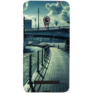 ColourCrust Asus Zenfone 5 Mobile Phone Back Cover With D290 - Durable Matte Finish Hard Plastic Slim Case