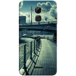 ColourCrust Coolpad Note 3 Lite Mobile Phone Back Cover With D290 - Durable Matte Finish Hard Plastic Slim Case
