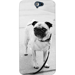 ColourCrust HTC One A9 Mobile Phone Back Cover With D296 - Durable Matte Finish Hard Plastic Slim Case