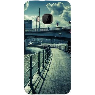 ColourCrust HTC One M9 Mobile Phone Back Cover With D290 - Durable Matte Finish Hard Plastic Slim Case