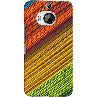 ColourCrust HTC One M9 Plus Mobile Phone Back Cover With D287 - Durable Matte Finish Hard Plastic Slim Case