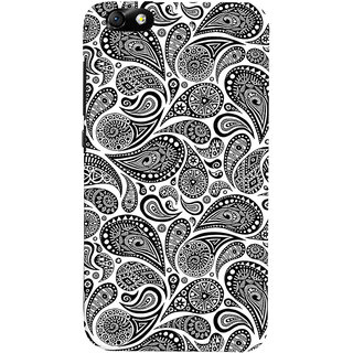 ColourCrust Huawei Honor 4X / Dual Sim / Glory Play Mobile Phone Back Cover With Black & white pattern - Durable Matte Finish Hard Plastic Slim Case