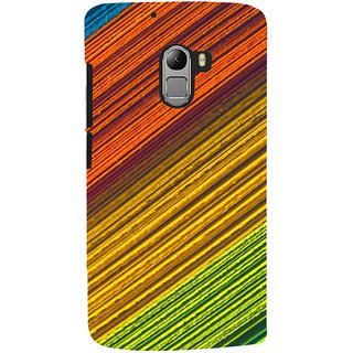 ColourCrust Lenovo K4 Note Mobile Phone Back Cover With D287 - Durable Matte Finish Hard Plastic Slim Case