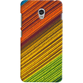 ColourCrust Lenovo Vibe P1 Mobile Phone Back Cover With D287 - Durable Matte Finish Hard Plastic Slim Case