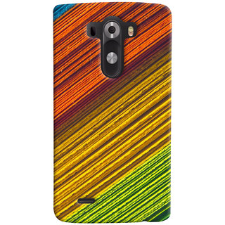 ColourCrust LG G3/ Optimus G3 Mobile Phone Back Cover With D287 - Durable Matte Finish Hard Plastic Slim Case