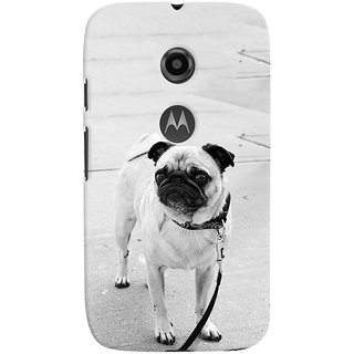 ColourCrust Motorola Moto E2 Mobile Phone Back Cover With D296 - Durable Matte Finish Hard Plastic Slim Case