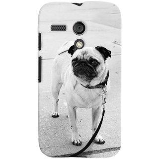 ColourCrust Motorola Moto G Mobile Phone Back Cover With D296 - Durable Matte Finish Hard Plastic Slim Case