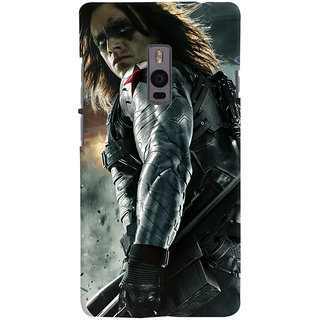 ColourCrust OnePlus 2 Mobile Phone Back Cover With Bucky - Durable Matte Finish Hard Plastic Slim Case