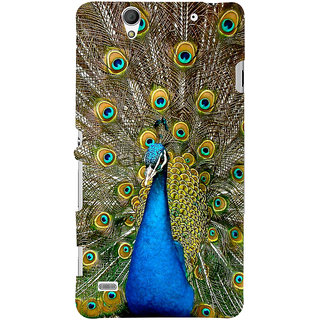 ColourCrust Sony Xperia C4 / Dual Sim Mobile Phone Back Cover With D291 - Durable Matte Finish Hard Plastic Slim Case