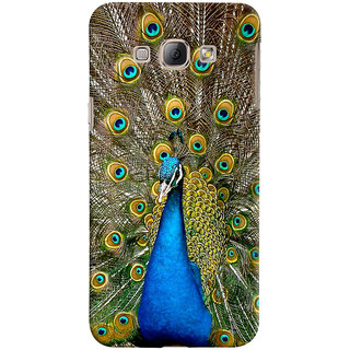 ColourCrust Samsung Galaxy A8 (2015) Mobile Phone Back Cover With D291 - Durable Matte Finish Hard Plastic Slim Case