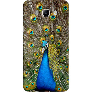 ColourCrust Samsung Galaxy J5 (2016) Mobile Phone Back Cover With D291 - Durable Matte Finish Hard Plastic Slim Case