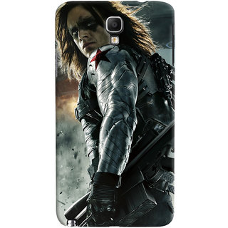 ColourCrust Galaxy Note 3 Neo Mobile Phone Back Cover With Bucky - Durable Matte Finish Hard Plastic Slim Case