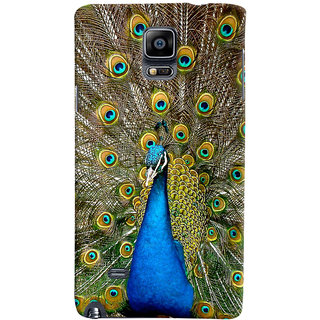 ColourCrust Samsung Galaxy Note 4 Mobile Phone Back Cover With D291 - Durable Matte Finish Hard Plastic Slim Case