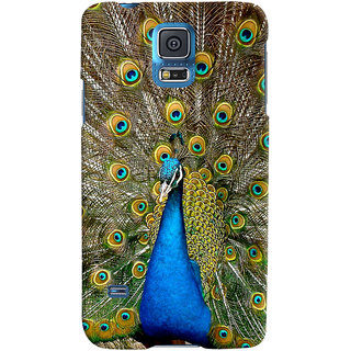 ColourCrust Samsung Galaxy S5 Mobile Phone Back Cover With D291 - Durable Matte Finish Hard Plastic Slim Case
