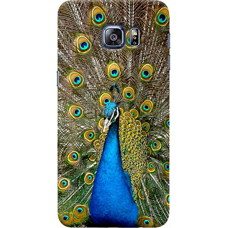 ColourCrust Samsung Galaxy S6 Edge Mobile Phone Back Cover With D291 - Durable Matte Finish Hard Plastic Slim Case