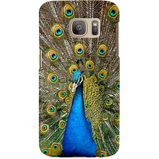 ColourCrust Samsung Galaxy S7 Mobile Phone Back Cover With D291 - Durable Matte Finish Hard Plastic Slim Case