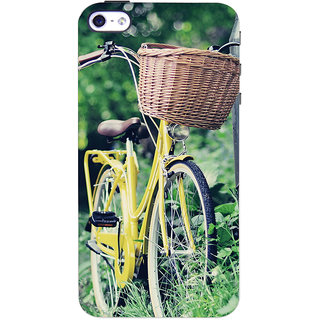 ColourCrust  4S Mobile Phone Back Cover With D297 - Durable Matte Finish Hard Plastic Slim Case
