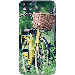 ColourCrust HTC Desire 816 / 816G Dual Sim Mobile Phone Back Cover With D297 - Durable Matte Finish Hard Plastic Slim Case