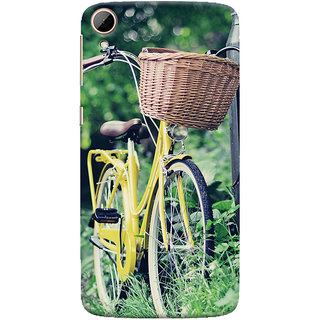 ColourCrust HTC Desire 828 / Dual Sim Mobile Phone Back Cover With D297 - Durable Matte Finish Hard Plastic Slim Case