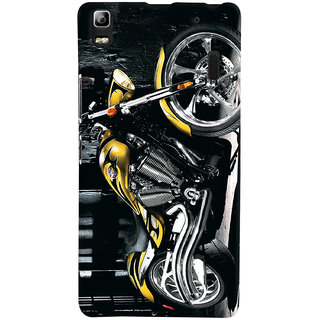 ColourCrust Lenovo K3 Note / A7000 Turbo Mobile Phone Back Cover With D292 - Durable Matte Finish Hard Plastic Slim Case