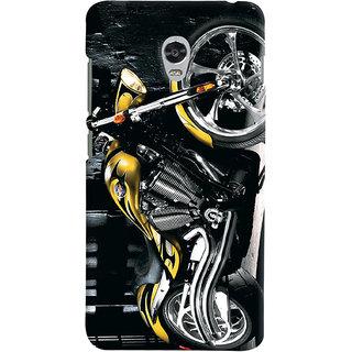 ColourCrust Lenovo Vibe P1 Mobile Phone Back Cover With D292 - Durable Matte Finish Hard Plastic Slim Case