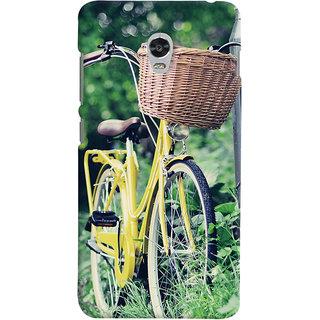 ColourCrust Lenovo Vibe P1 Turbo Mobile Phone Back Cover With D297 - Durable Matte Finish Hard Plastic Slim Case