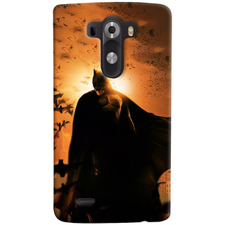 ColourCrust LG G3/ Optimus G3 Mobile Phone Back Cover With D295 - Durable Matte Finish Hard Plastic Slim Case