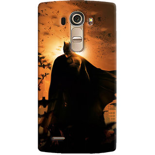 ColourCrust LG G4 H818N Mobile Phone Back Cover With D295 - Durable Matte Finish Hard Plastic Slim Case
