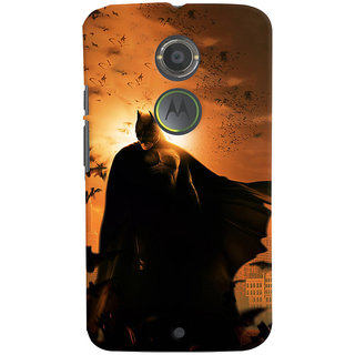 ColourCrust Motorola Moto X2 Mobile Phone Back Cover With D295 - Durable Matte Finish Hard Plastic Slim Case