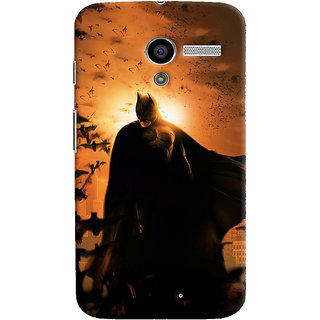 ColourCrust Motorola Moto X Mobile Phone Back Cover With D295 - Durable Matte Finish Hard Plastic Slim Case