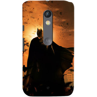 ColourCrust Motorola Moto X Play Mobile Phone Back Cover With D295 - Durable Matte Finish Hard Plastic Slim Case