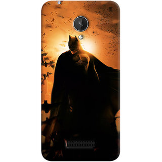 ColourCrust Micromax Canvas Spark Q380 Mobile Phone Back Cover With D295 - Durable Matte Finish Hard Plastic Slim Case