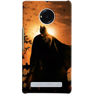 ColourCrust Micromax Yuphoria Mobile Phone Back Cover With D295 - Durable Matte Finish Hard Plastic Slim Case