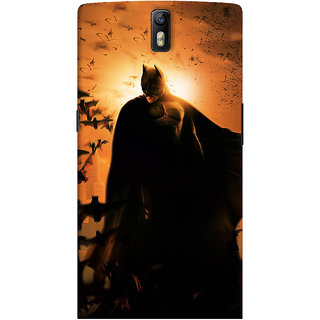 ColourCrust OnePlus One Mobile Phone Back Cover With D295 - Durable Matte Finish Hard Plastic Slim Case