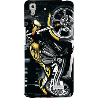 ColourCrust Oppo R7 Mobile Phone Back Cover With D292 - Durable Matte Finish Hard Plastic Slim Case