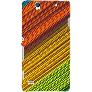 ColourCrust Sony Xperia C4 / Dual Sim Mobile Phone Back Cover With D287 - Durable Matte Finish Hard Plastic Slim Case