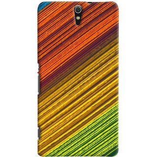 ColourCrust Sony Xperia C5 /Ultra Dual Sim Mobile Phone Back Cover With D287 - Durable Matte Finish Hard Plastic Slim Case