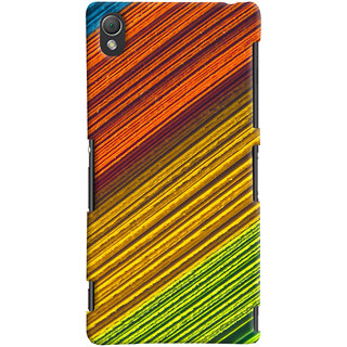 ColourCrust Sony Xperia Z3 Compact / Mini Mobile Phone Back Cover With D287 - Durable Matte Finish Hard Plastic Slim Case