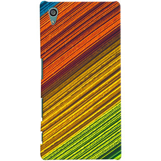 ColourCrust Sony Xperia Z5 Mobile Phone Back Cover With D287 - Durable Matte Finish Hard Plastic Slim Case