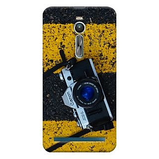 ColourCrust Asus Zenfone 2 ZE550ML Mobile Phone Back Cover With D293 - Durable Matte Finish Hard Plastic Slim Case