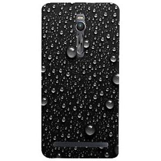 ColourCrust Asus Zenfone 2 ZE551ML Mobile Phone Back Cover With D289 - Durable Matte Finish Hard Plastic Slim Case