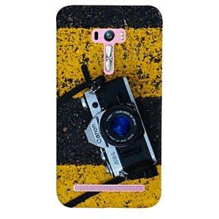 ColourCrust Asus Zenfone Selfie ZD551KL Mobile Phone Back Cover With D293 - Durable Matte Finish Hard Plastic Slim Case