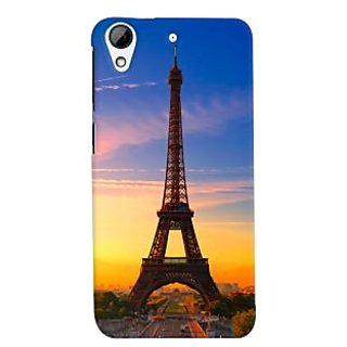 ColourCrust HTC Desire 728 / 728G / Dual Sim Mobile Phone Back Cover With D298 - Durable Matte Finish Hard Plastic Slim Case